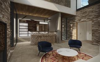 Domáci bar vo foayer | design CADFACE