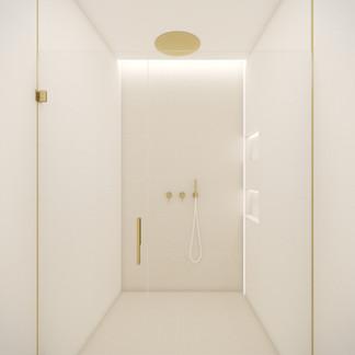 Beautiful minimalist shower | by CADFACE