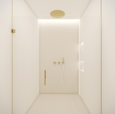 Beautiful minimalist shower | by CADFACE