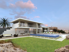 Holiday villa with panoramic sea view | by CADFACE