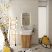 Playful bathroom for three young children | by CADFACE