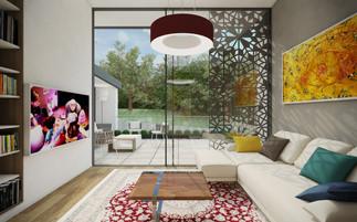 Spoločenská miestnosť a herňa | design CADFACE