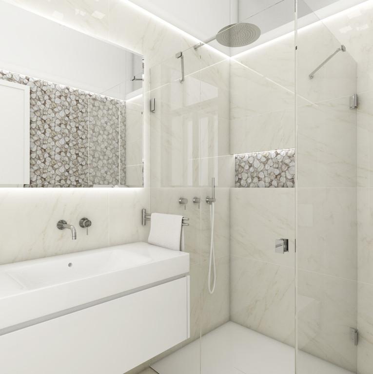 Luxusný apartmán - en-suite kúpeľňa   design CADFACE