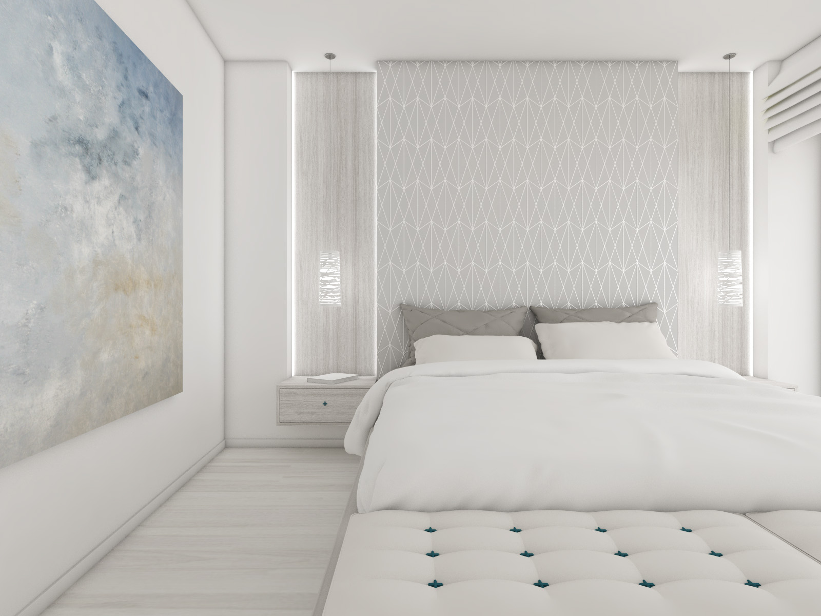 Master suite bedroom | by CADFACE