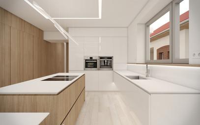 Obývačka s kuchyňou   design CADFACE