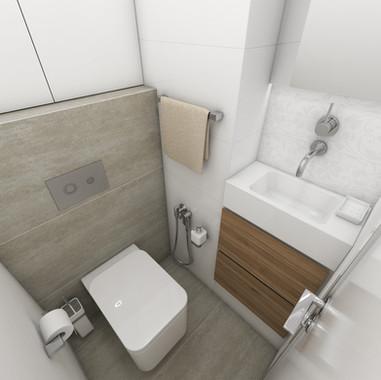 Tiny bathroom design   by CADFACE