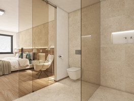En-suite kúpeľňa rodičov | design CADFACE