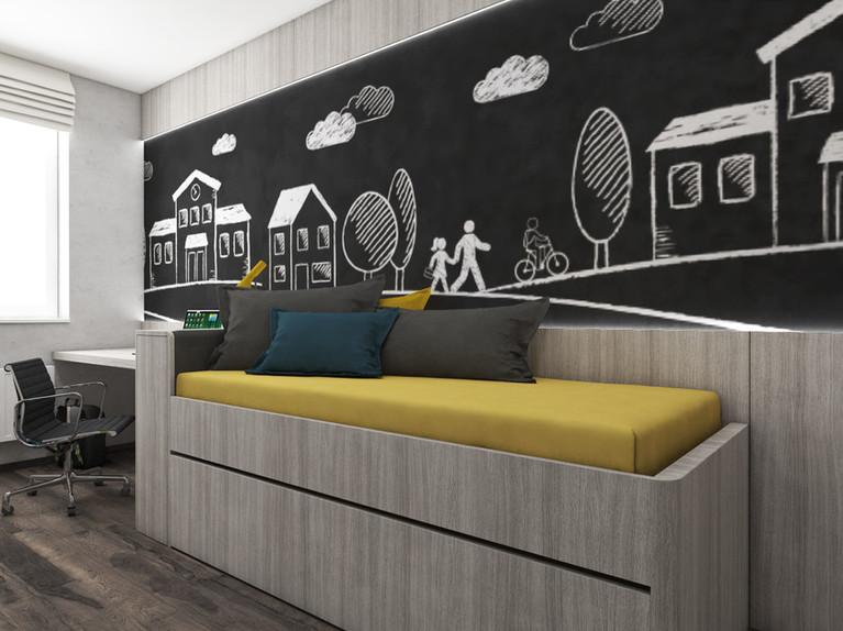 Chlapčenská detská izba | design CADFACE