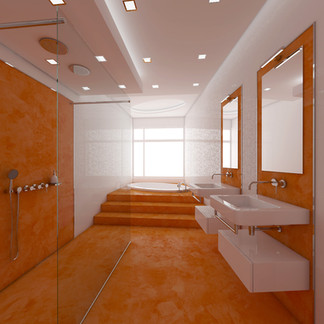 Spa bathroom for kids | by CADFACE
