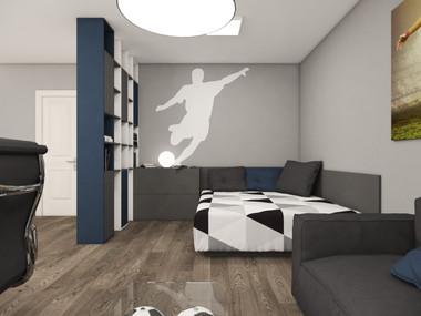 Izba pre chlapca   design CADFACE