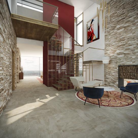 Foyer s krbom | design CADFACE
