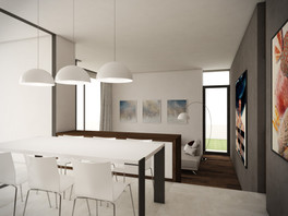 Living-room connected to the kitchen | by CADFACE
