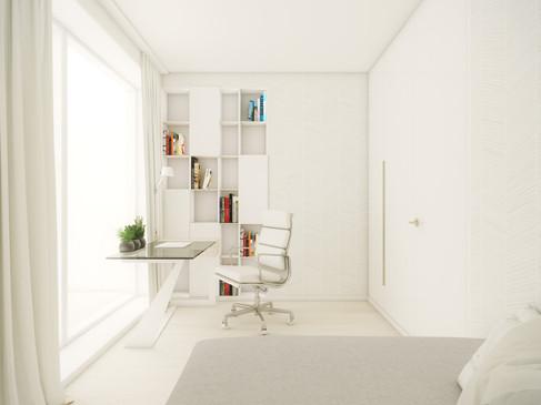 Hosťovská spálňa | design CADFACE