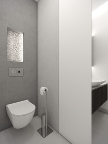 Hosťovská toaleta | design CADFACE