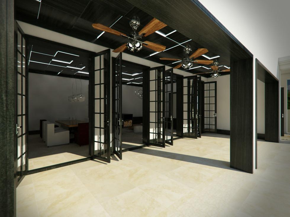 terasa prepojená s obývačkou   design CADFACE