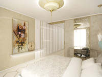 Elegant apartment full of light   by CADFACE