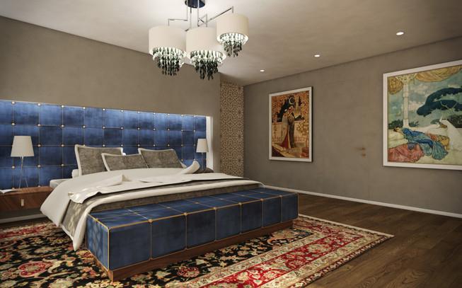 Hlavná spálňa | design CADFACE