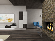 Minimalist interior of a high-end villa   by CADFACE