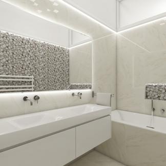 Luxury apartment - main bathroom | by CADFACE