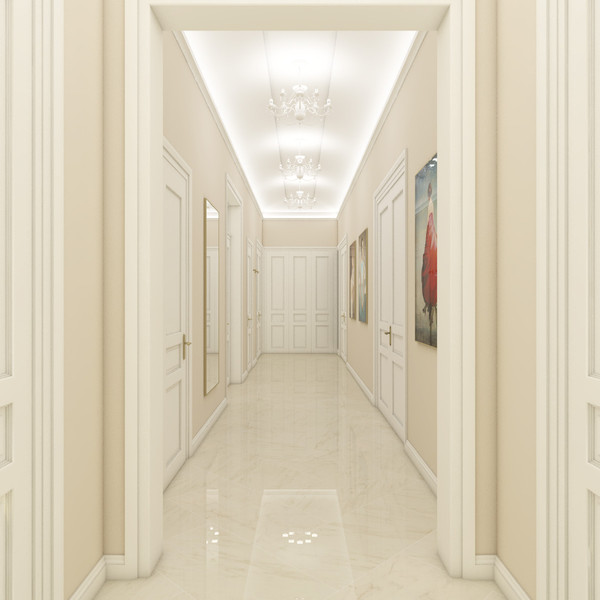 Luxury apartment - entrance hall | by CADFACE