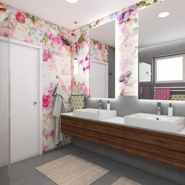 Kúpeľňa pre dvojičky | design CADFACE