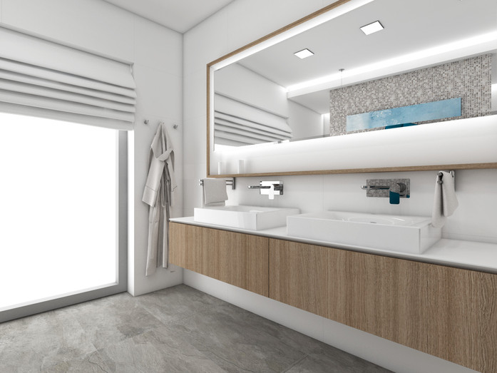 Hlavná kúpeľňa | design CADFACE