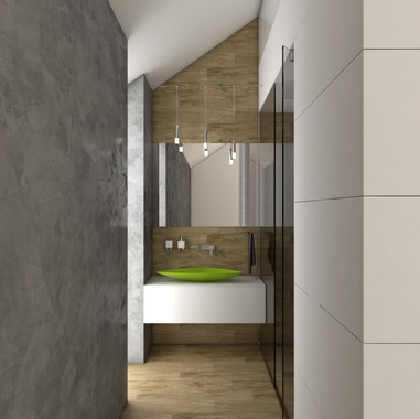 Minimalist en-suite bathroom | by CADFACE