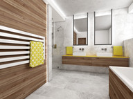 New home with natural finishes | by CADFACE