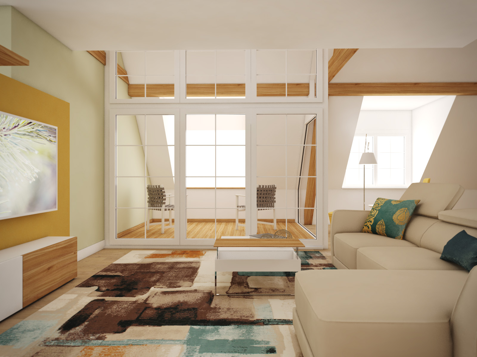 Open-plan apartment | by CADFACE