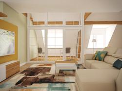 Mezonetový byt | design CADFACE