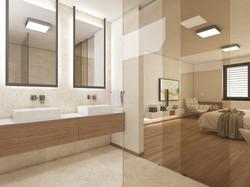 En-suite kúpeľňa | design CADFACE