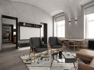 Loft-style apartment in a historical building | by CADFACE