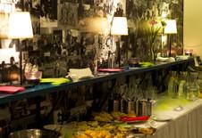 Interiér kaviarne | design CADFACE