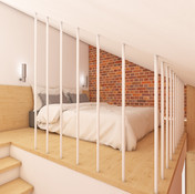 Guest house - bedroom | by CADFACE