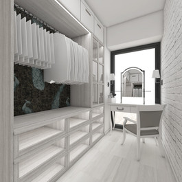 Master suite closet | by CADFACE