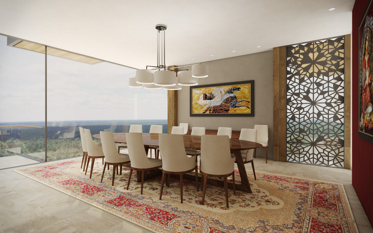 Formal dining room | by CADFACE