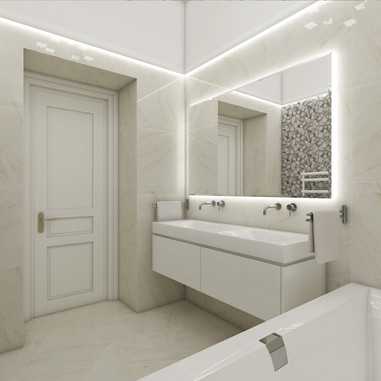 Luxury apartment - main bathroom | by CADFACE
