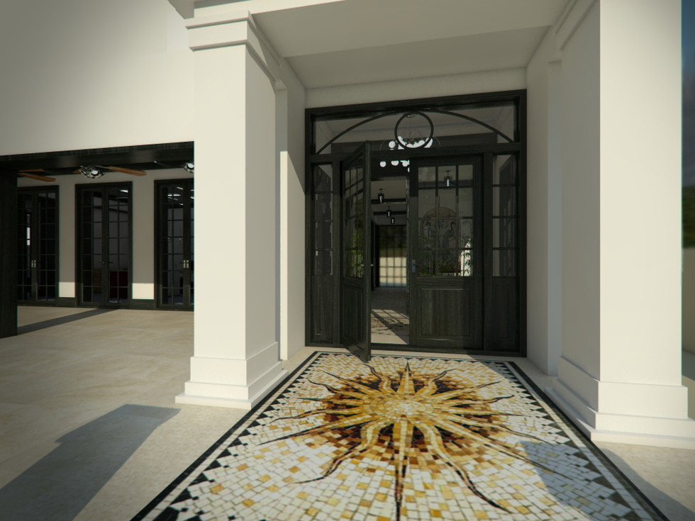 Main entrance | by CADFACE
