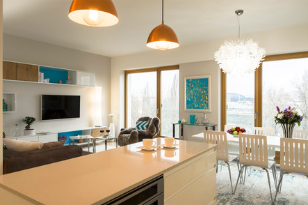 Charming river-view apartment   by CADFACE