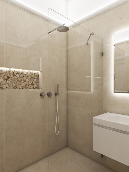 Luxury apartment - bathroom | by CADFACE