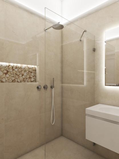 Luxusný apartmán - kúpeľňa | design CADFACE