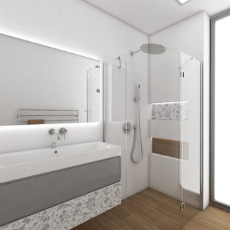 Bathroom design for a teenage girl   by CADFACE