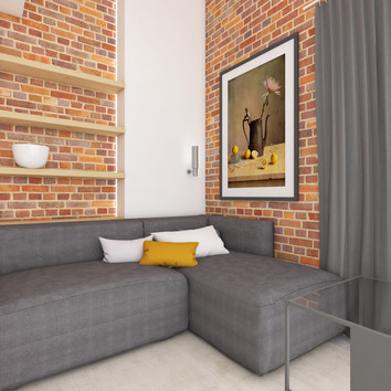 Guest house - living room | by CADFACE