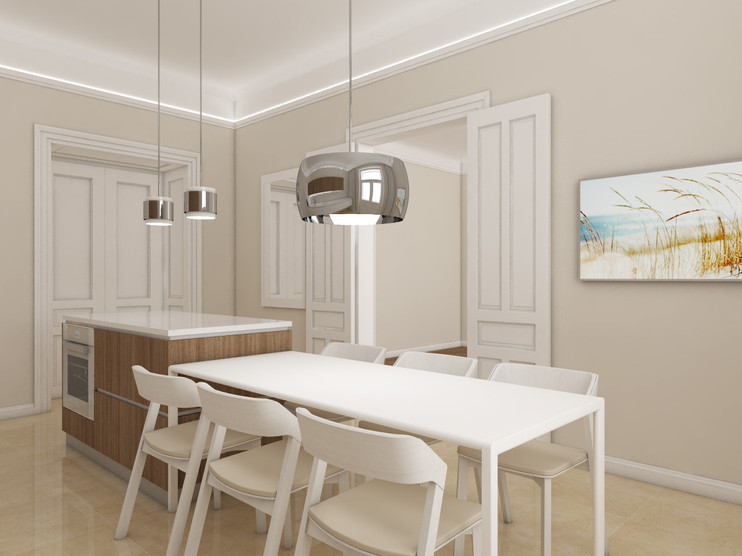 Luxury apartment - kitchen | by CADFACE