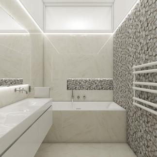 Elegantná kúpeľňa detí | design CADFACE