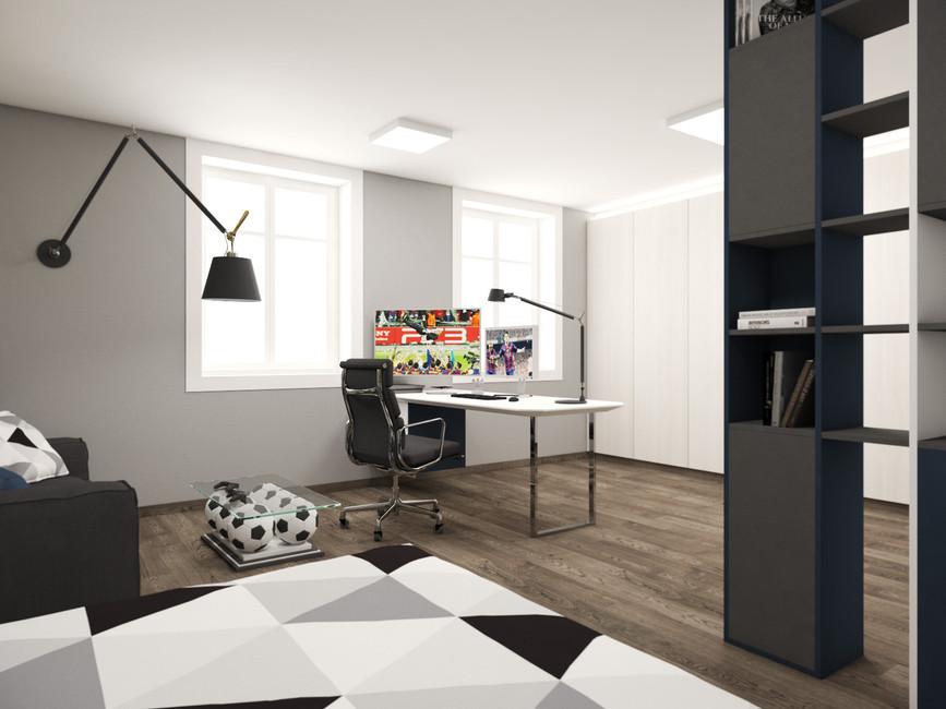 Izba pre chlapca | design CADFACE