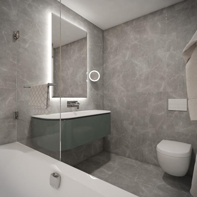 Kid's en-suite bathroom   by CADFACE