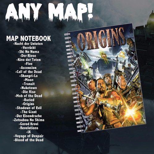Map pack Notepads & Perk a Cola Pens! Der Riese Map Pack on