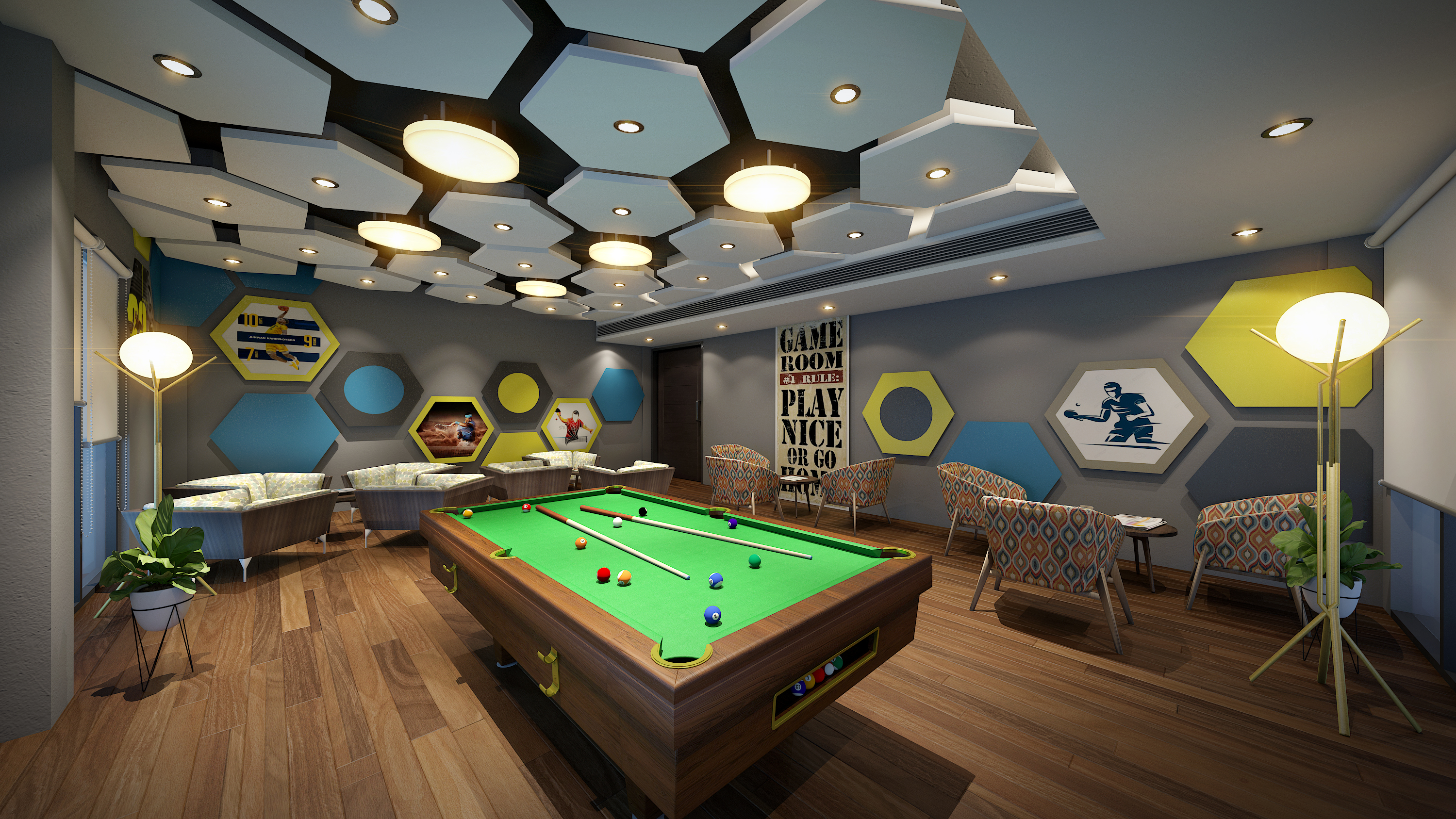 ATC Club Games Room