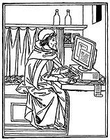 Medieval monk on computer.jpg